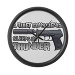 HK USP Handgun Silencer Large Wall Clock