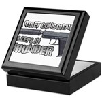 HK USP Handgun Silencer Keepsake Box