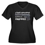 HK USP Handgun Silencer Women's Plus Size V-Neck D