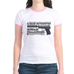 HK USP Handgun Silencer Jr. Ringer T-Shirt