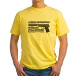 HK USP Handgun Silencer Yellow T-Shirt