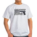HK USP Handgun Silencer Light T-Shirt