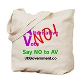 Altternative Vote Referendum Tote Bag