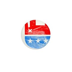 Dead Republican Elephant Mini Button (100 pack)