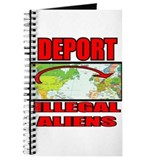 DEPORT ILLEGAL ALIENS WHT Journal