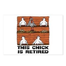 Retired Chick Postcards (Package of 8)