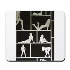 Funny Exotic dancers Mousepad