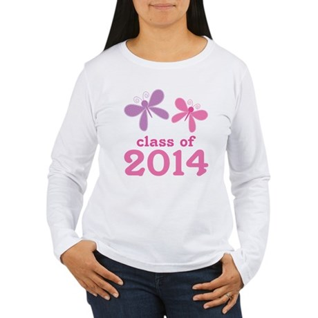 2014 Girls Graduation Women's Long Sleeve T-Shirt