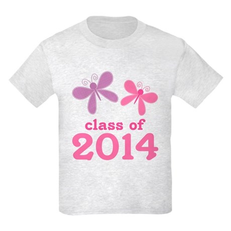 2014 Girls Graduation Kids Light T-Shirt