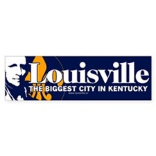 "Louisville ""biggest city"" sticker"