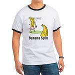 Banana split funny Ringer T
