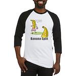 Banana split funny Baseball Jersey