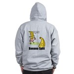 Banana split funny Zip Hoodie