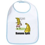 Banana split funny Bib