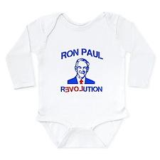 Ron Paul Revolution Long Sleeve Infant Bodysuit