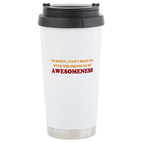 Sound of Awesomeness Ceramic Travel Mug