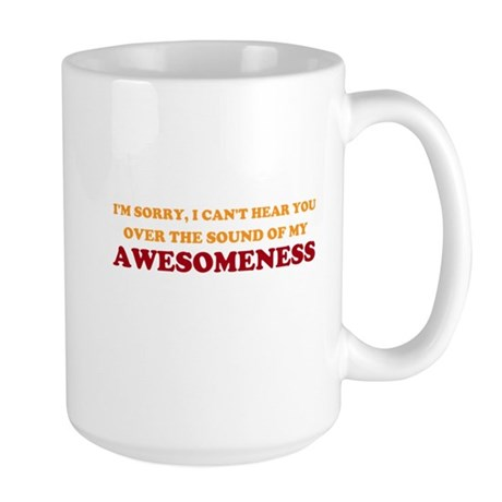 Sound of Awesomeness Large Mug