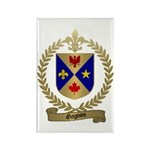 GAGNON Family Crest Rectangle Magnet