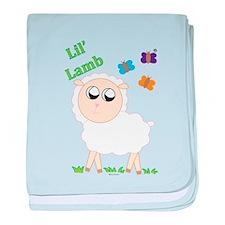Lil' Lamb baby blanket