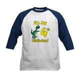 Dinosaur 4th Birthday Shirt Tee
