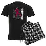 Survivor Multiple Myeloma Men's Dark Pajamas