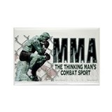 The MMA Thinker Rectangle Magnet (10 pack)