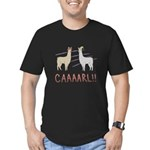 CAAAARL!! Men's Fitted T-Shirt (dark)