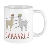 Llamas with Mugs