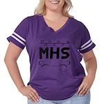 Survivor Ovarian Cancer Women's Raglan Hoodie