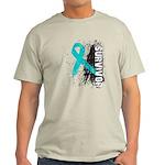Survivor Ovarian Cancer Light T-Shirt