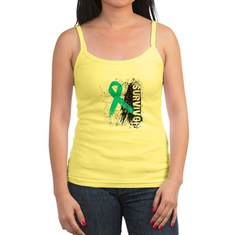 Survivor Ovarian Cancer Jr. Spaghetti Tank