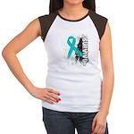 Survivor Ovarian Cancer Women's Cap Sleeve T-Shirt