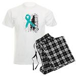 Survivor Ovarian Cancer Men's Light Pajamas