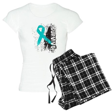 Survivor Ovarian Cancer Women's Light Pajamas
