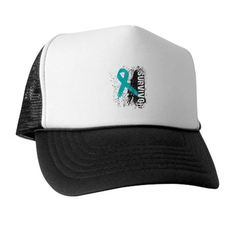 Survivor Ovarian Cancer Trucker Hat