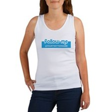 Personalizable Twitter Follow Me Women's Tank Top