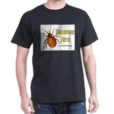 Bed Bugs Bite Black T-Shirt