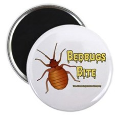 "Bed Bugs Bite 2.25"" Magnet (100 pack)"