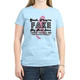 Fake Breast Cancer T-Shirt