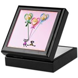 Mom Hearts n Kids Keepsake Box