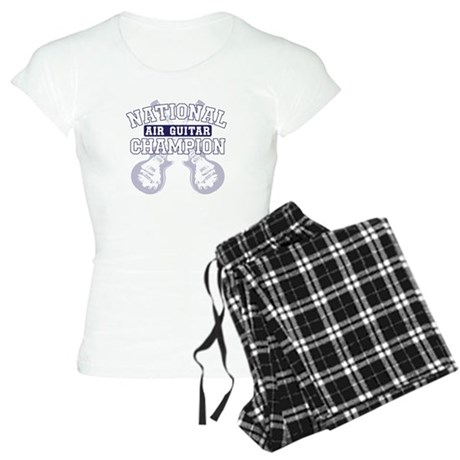 national air guitar champion Women's Light Pajamas