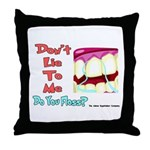 Do you Floss? Throw Pillow