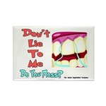 Do you Floss? Rectangle Magnet (100 pack)