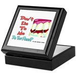 Do you Floss? Keepsake Box