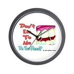 Do you Floss? Wall Clock
