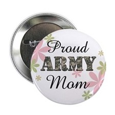 "Proud Army Mom [fl2] 2.25"" Button"