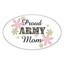 Proud Army Mom [fl2] Decal
