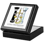 Justice / Priestess Keepsake Box