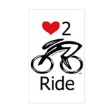 Love 2 ride Decal