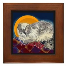 Quilt Dreams Framed Tile